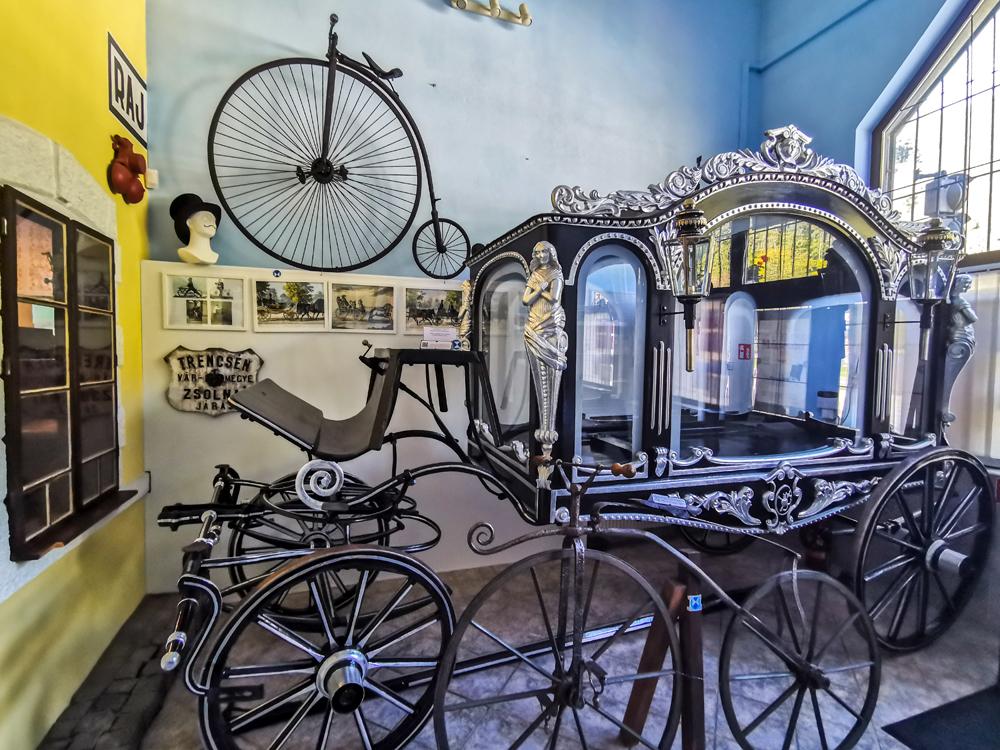 Múzeum dopravy - pohrebný koč