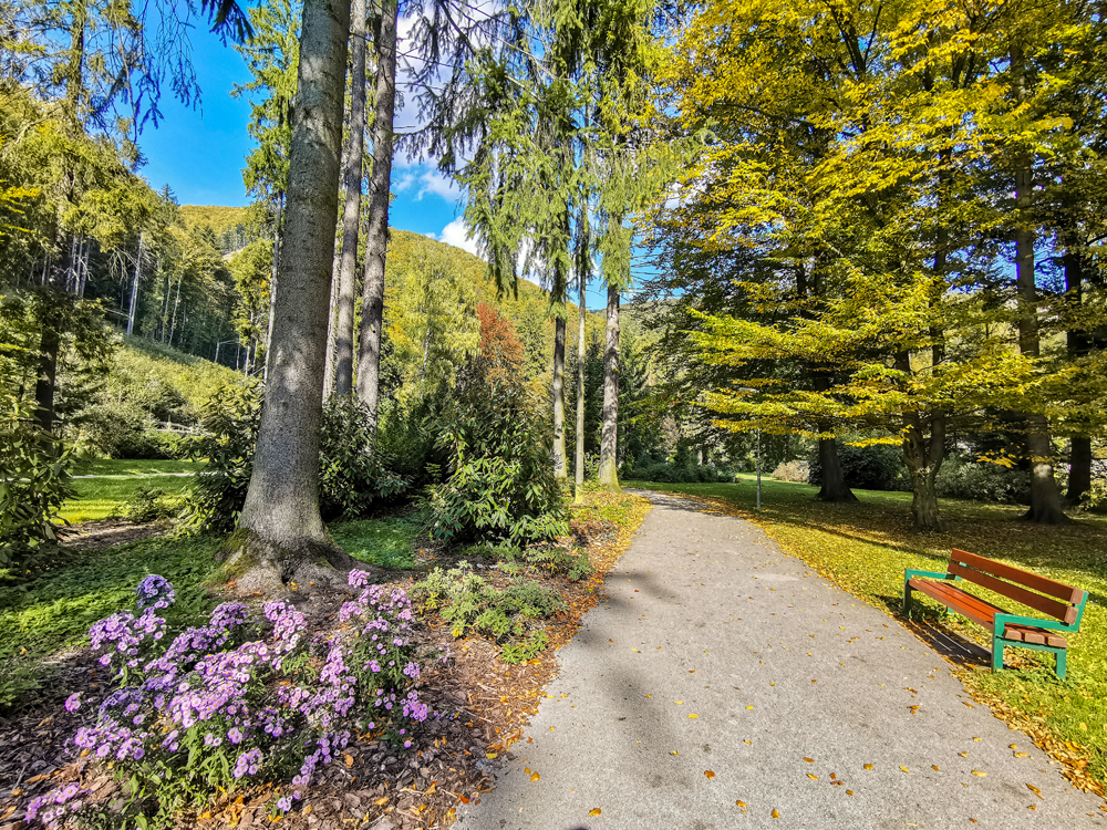 Rajecké Teplice - Park pri Skalke