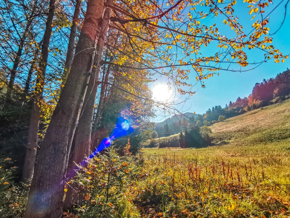 Jesenné ráno v Rajeckej doline