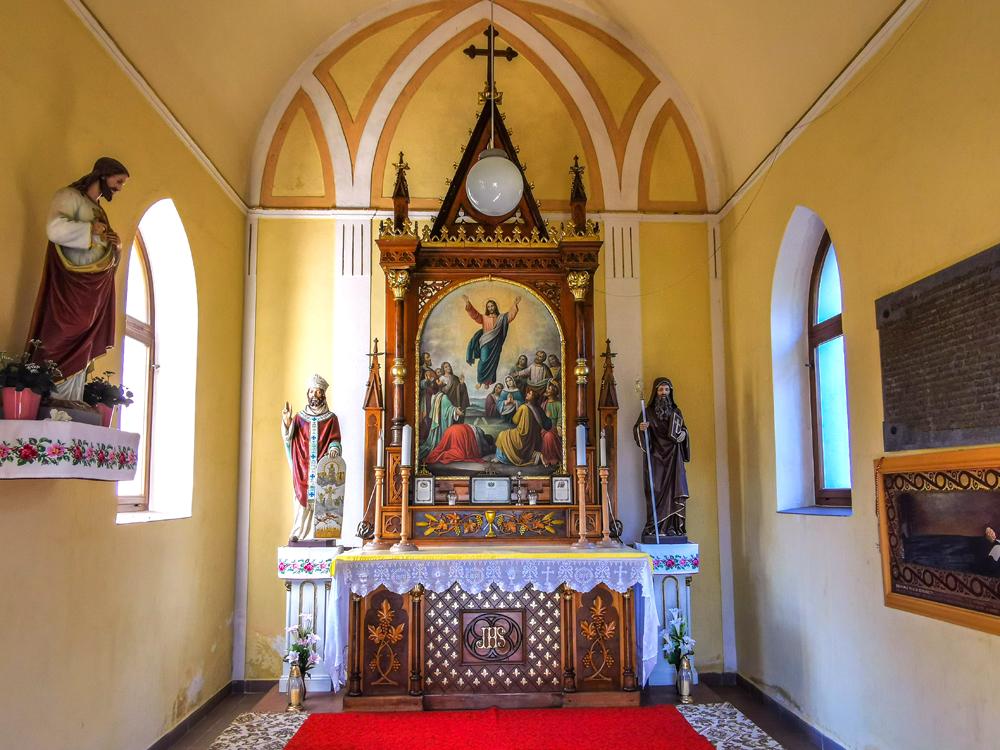 Rajecká Lesná - Kostol Nanebovstúpenia Pána