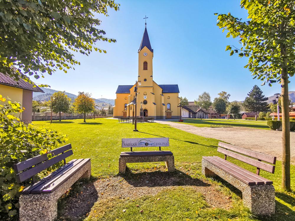 Rajecká Lesná - Bazilika Narodenia Panny Márie